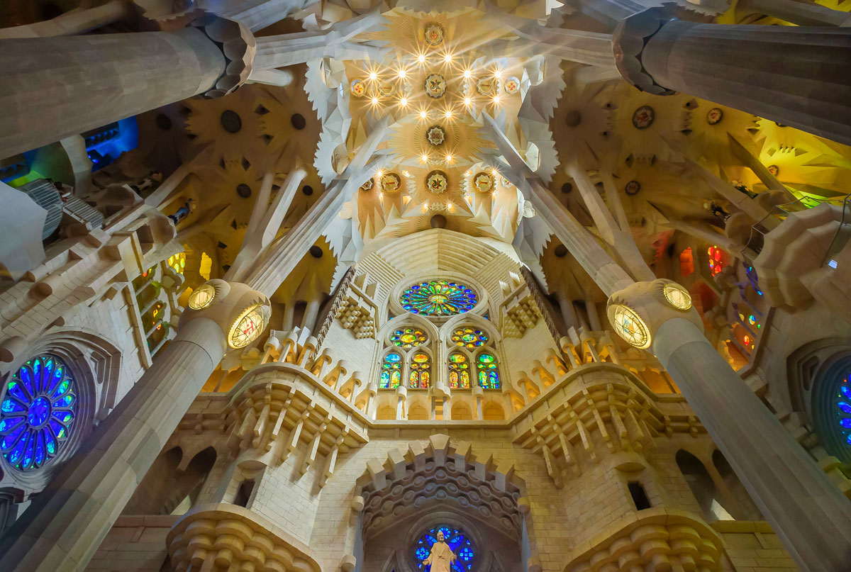 Transept Sagrada Familia