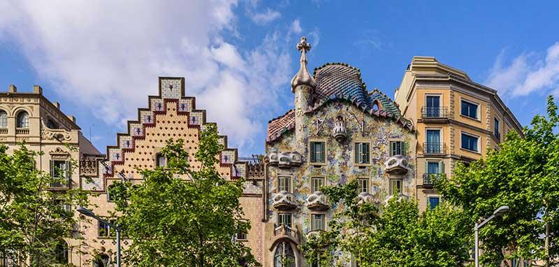 Barcelona roof tops Battlo