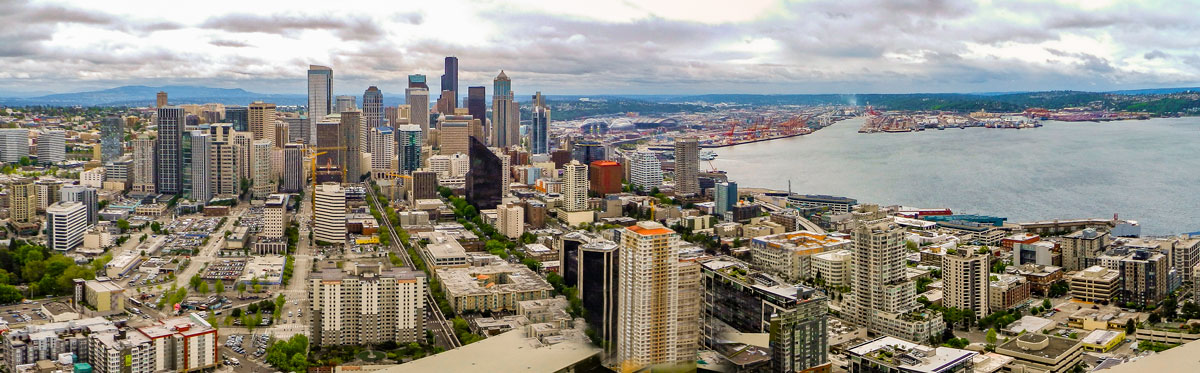 Downtown Seattle and Water front