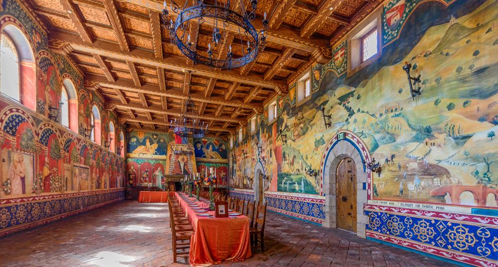 Dining Room Castello di Amorosa
